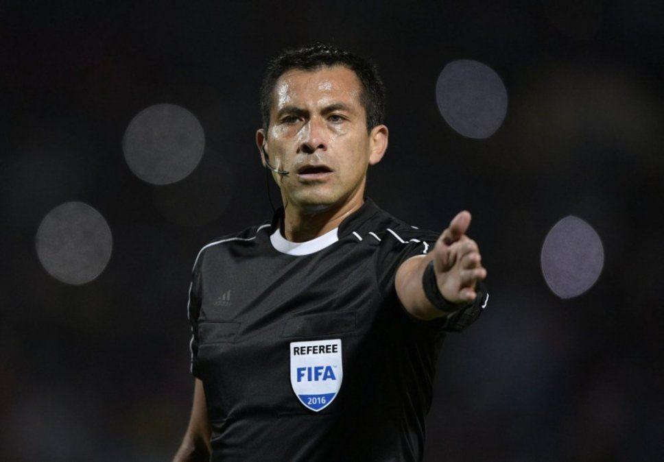 Bascuñán será el arbitro del domingo