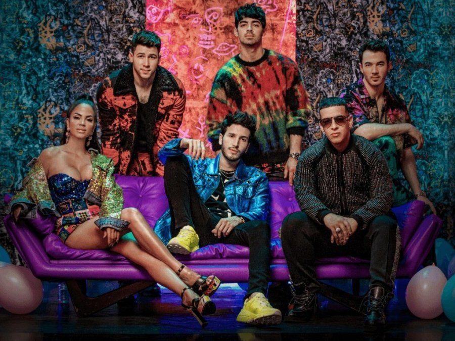 Sebastián Yatra estrenó video junto a Jonas Brothers