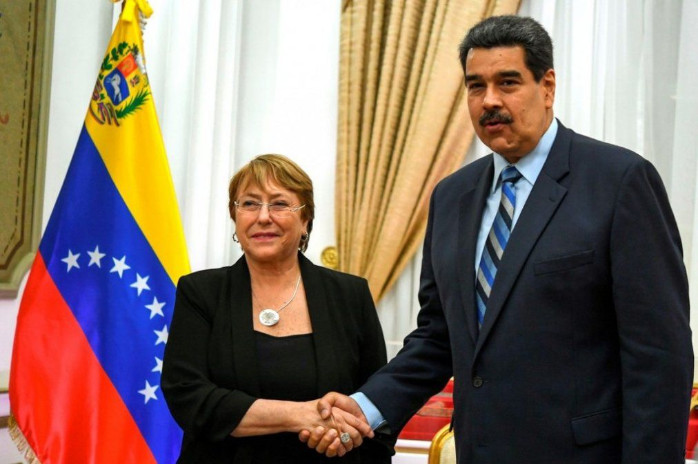 Bachelet pidió liberar a los presos políticos de Venezuela