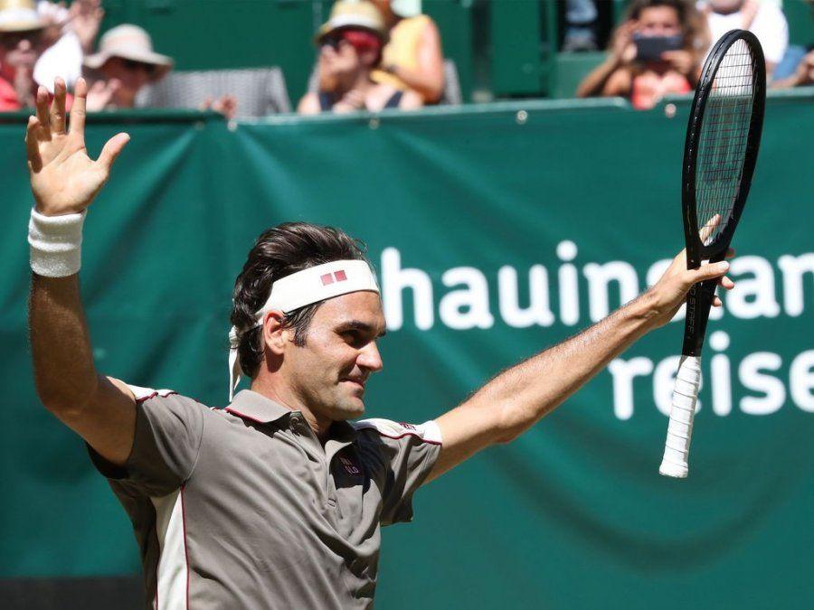 Federer ganó en Halle por décima vez y se acerca a un récord