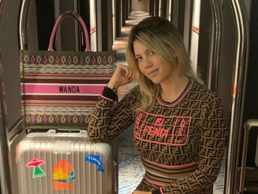 Wanda Nara se burló de la trans que dijo ser amante de Icardi
