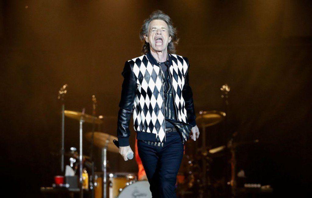 Mick Jagger volvió a cantar con los Rolling Stones