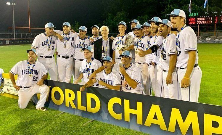 ¡Argentina campeón del mundo en sóftbol!