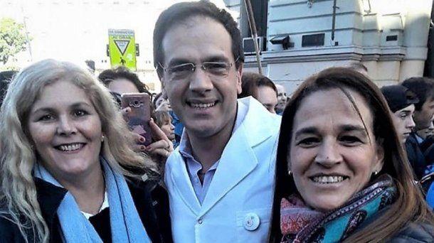 El médico culpable por negar un aborto es precandidato a diputado nacional