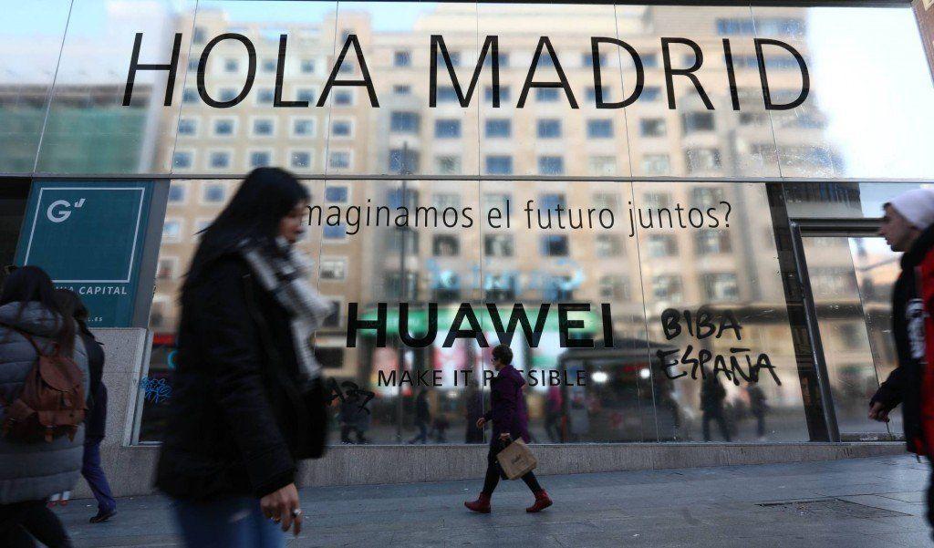 Huawei abrirá su tienda más grande del mundo en Madrid