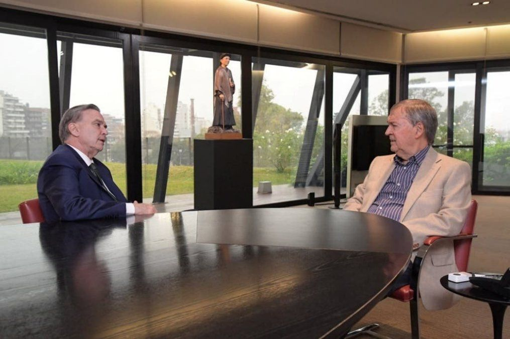 Schiaretti y Pichetto se reunieron en Córdoba