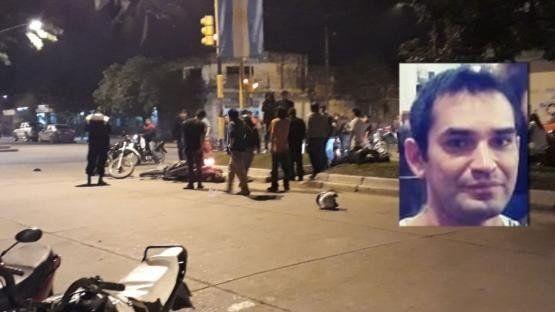 Aguilares: Un Policía murió en una persecución