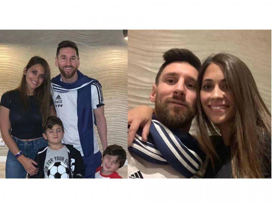 El cumpleaños de Lionel Messi: las tiernas postales en familia y el divertido apodo que le puso Antonela Roccuzzo