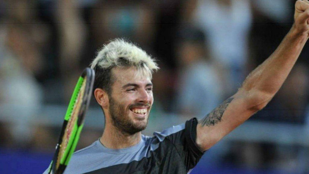 Lóndero sumó su primer triunfo ATP sobre césped