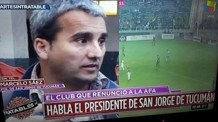 Marcelo Saéz: No vamos a participar en los torneos federales