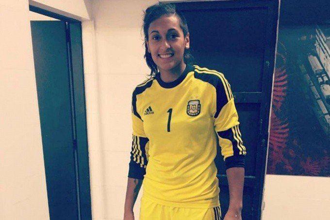 Solana Pereyra:  No podía creer cuando estaba cantando el himno en el mundial
