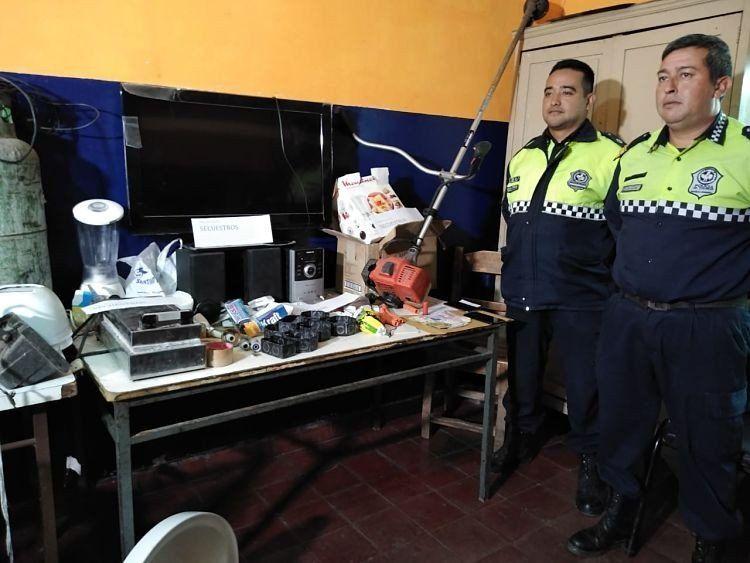 Secuestran dinero y elementos robados en escruches en El Cadillal