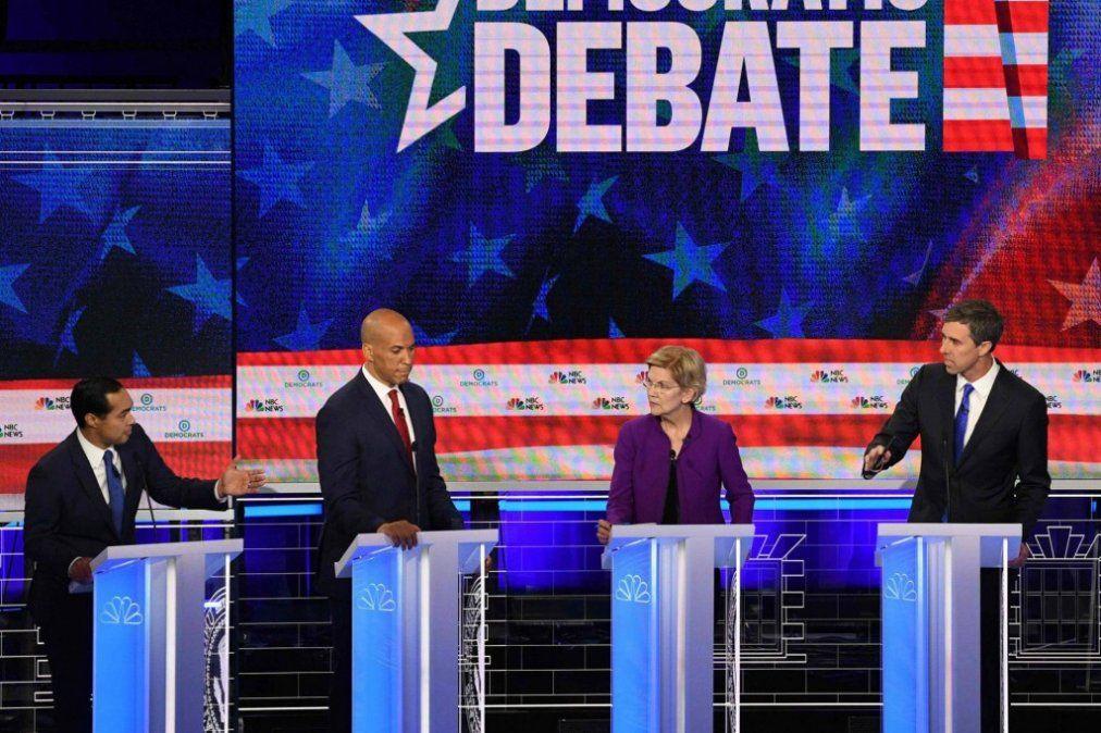 El drama en la frontera sur de Estados Unidos calienta el primer debate de los demócratas