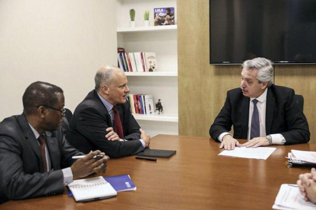 Fernández y Lavagna se reunieron con el FMI