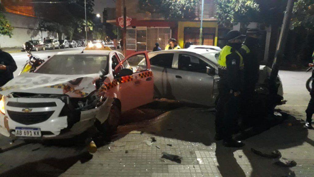 Accidente en la zona sur de la capital tucumana