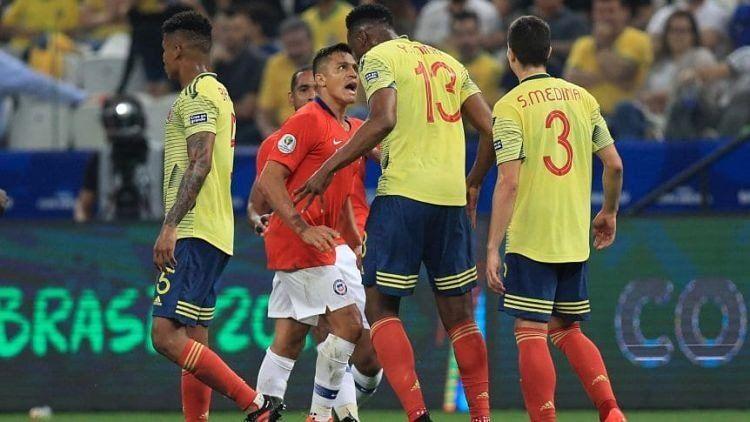 Copa América: Chile le ganó a Colombia por penales y es semifinalista