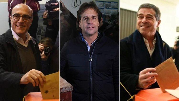 Uruguay: Martínez, Lacalle Pou y Talvi serán los candidatos en las elecciones presidenciales