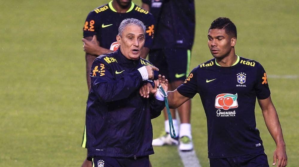 Brasil, con dudas en el lateral izquierdo y la vuelta de Casemiro