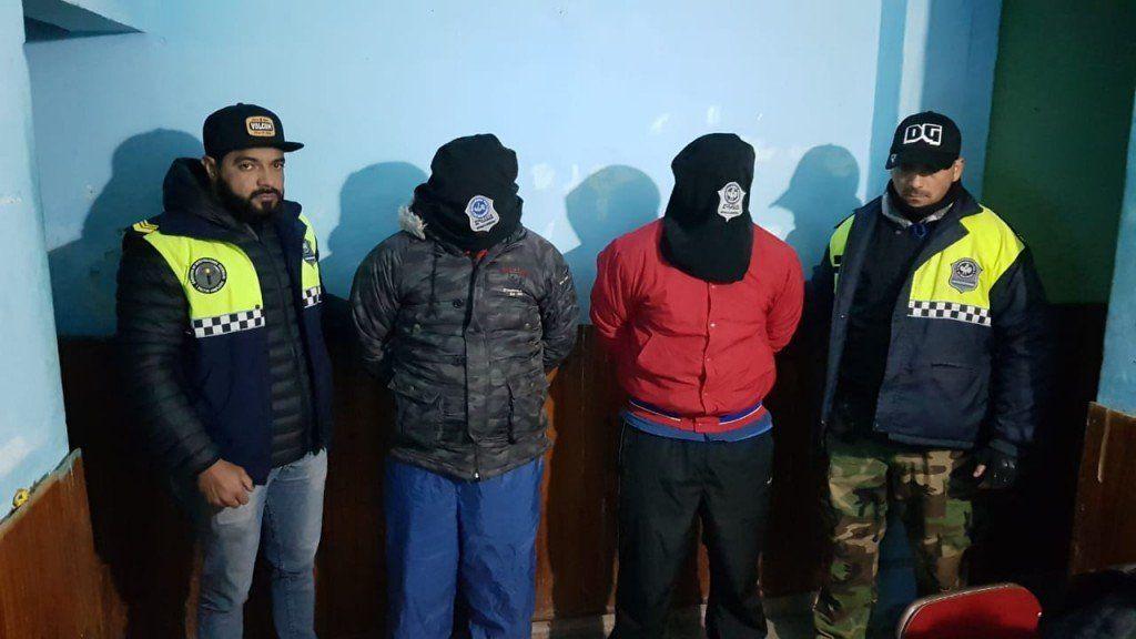 Dos hombres resultaron detenidos por el robo a una familia de Yerba Buena