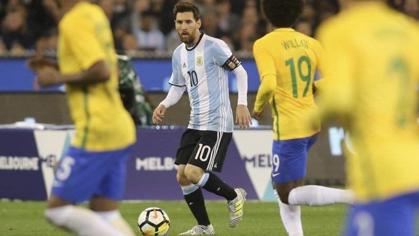 Brasil aplasta a Argentina en la cotización de sus jugadores