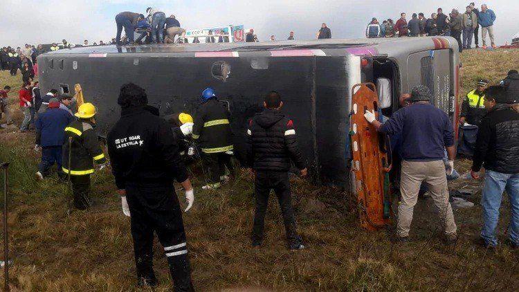 Los primeros testimonios e imágenes del accidente
