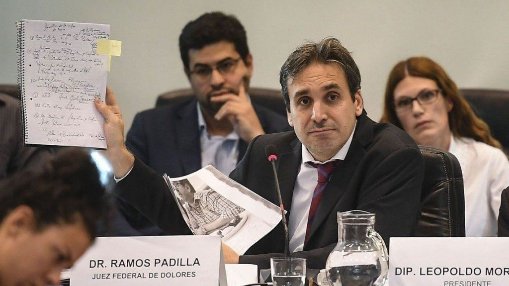 Ramos Padilla amplió el procesamiento contra DAlessio