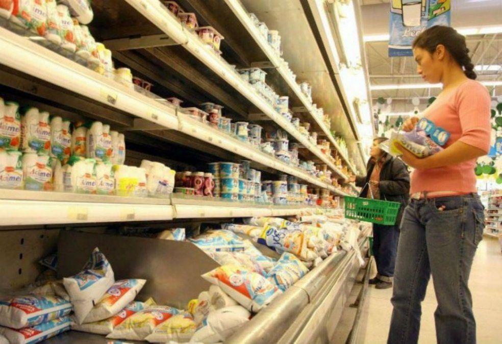 La canasta de alimentos sufrió una suba del 26% en el primer semestre