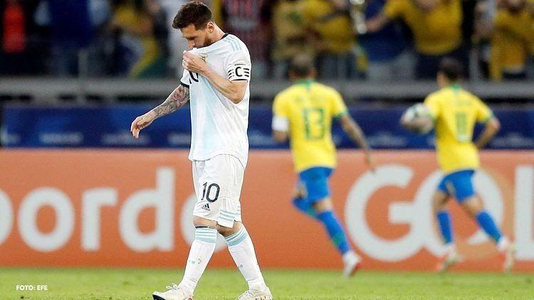 Copa América: Brasil venció 2 a 0 a Argentina y lo eliminó del torneo