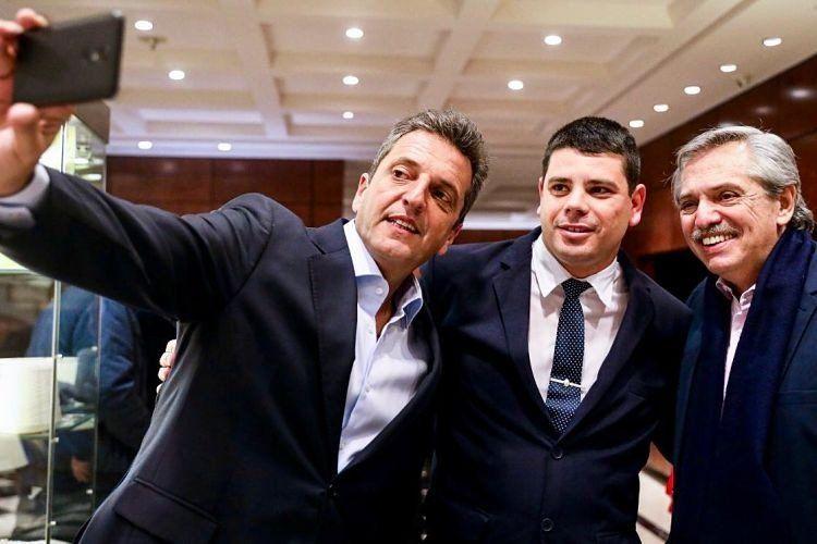 Sergio Massa y Alberto Fernández encabezaron un encuentro