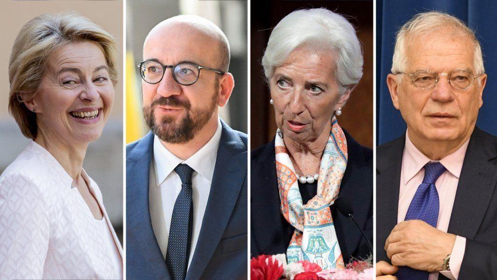 Líderes de la Unión Europea proponen a los titulares para los principales cargos del bloque