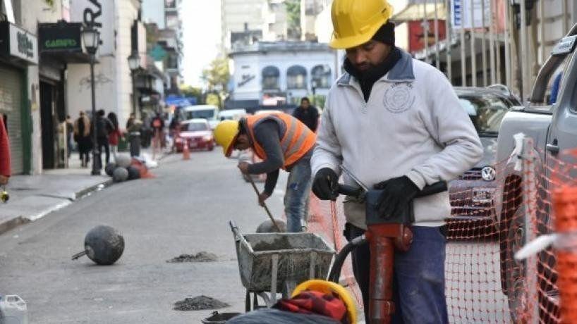 El tránsito céntrico de la Capital tucumana, afectado por obras