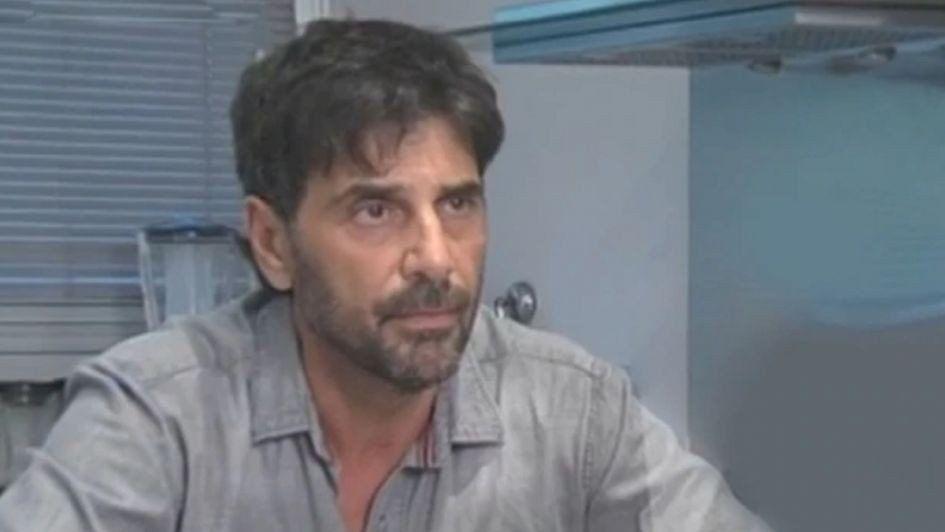 Juan Darthés fue internado de urgencia en Brasil con un cuadro de depresión y ataques de pánico