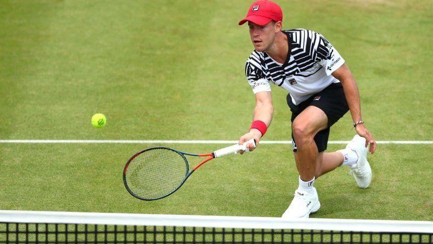 Schwartzman va por otro paso en Wimbledon