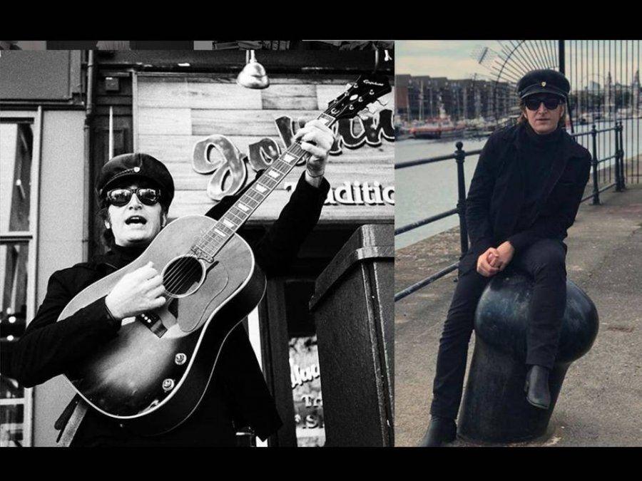 El argentino que es igual a John Lennon y lo interpretará en un musical en Liverpool