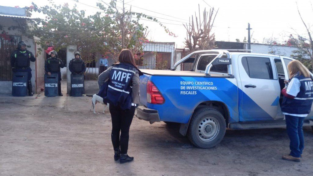 Allanamiento y secuestro por el asesinato de un joven en Ranchillos