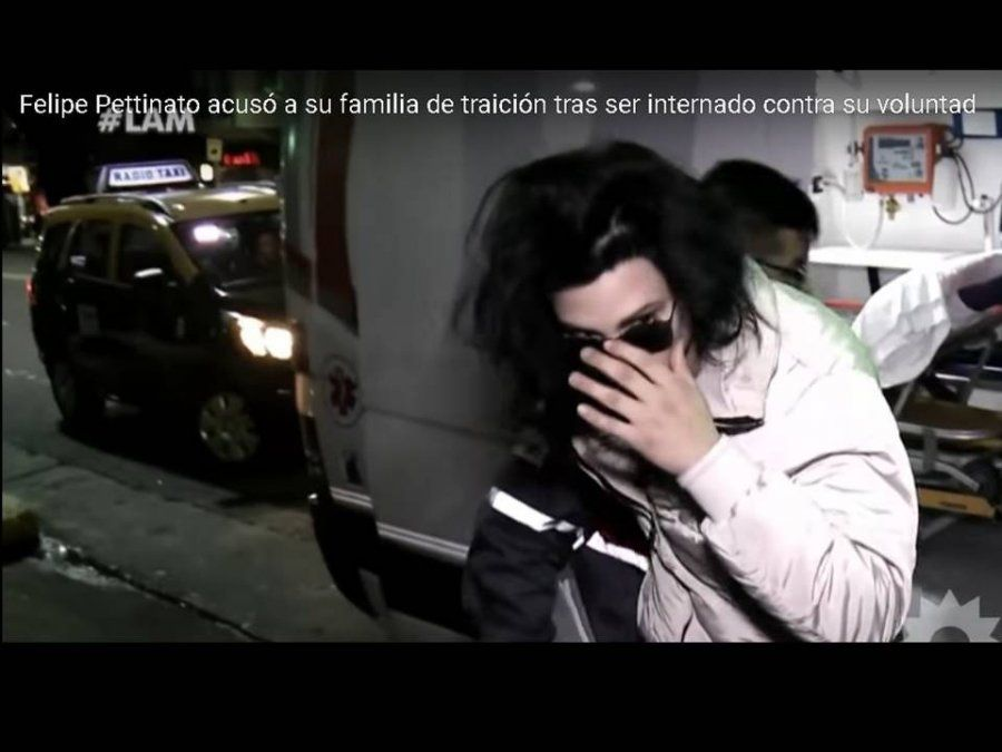 Felipe Pettinato, internado: Me siento traicionado por Tamara y por Roberto