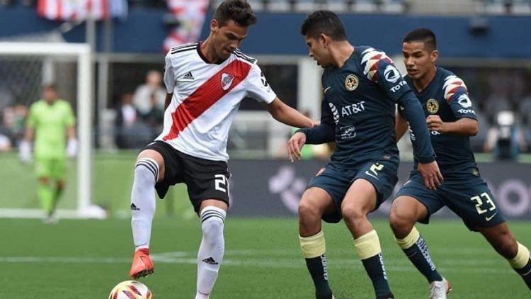 River le ganó 2-0 al América de México