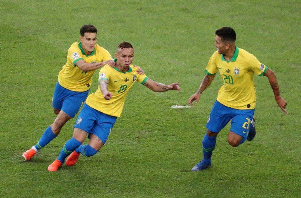 Brasil le ganó 3-1 a Perú y se llevó su Copa América