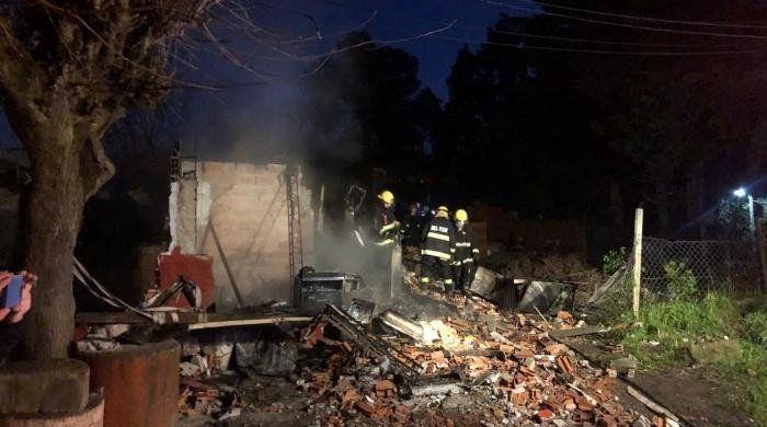 Murieron cinco hermanos menores de edad al incendiarse su casa