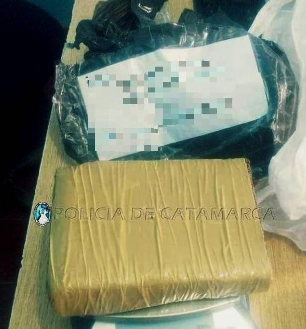 Secuestraron 1 kilo de marihuana en la terminal de ómnibus de Belén