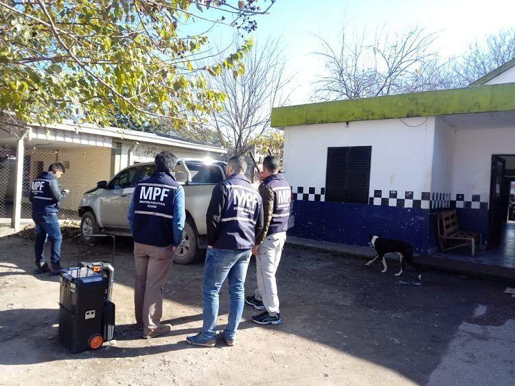 Buscan rastros de los autores de un violento robo en el sur