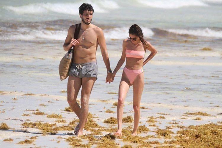 Las apasionadas vacaciones de Tini Stoessel y Sebastián Yatra
