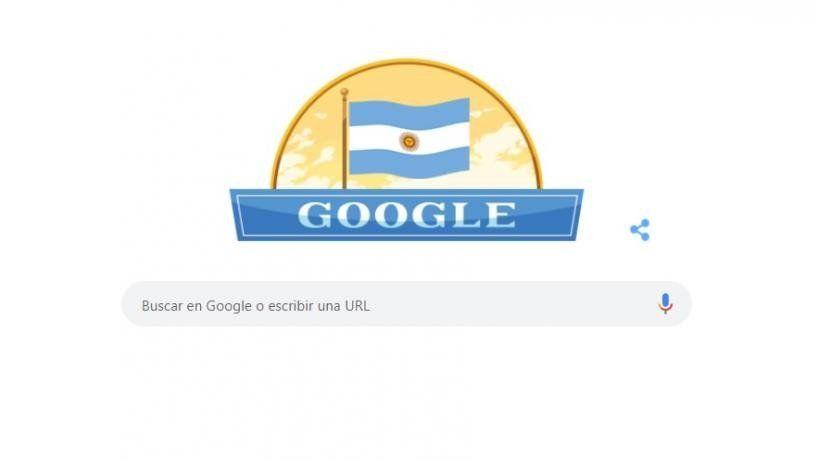 Google hizo un doodle por el Día de la Independencia