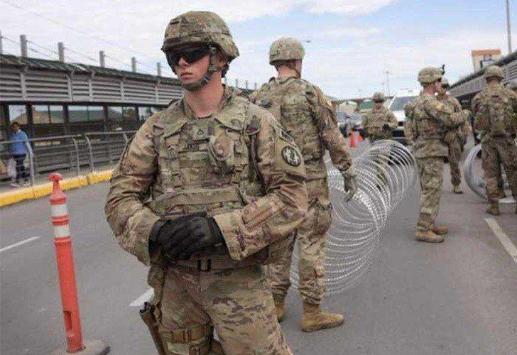 Por la crisis migratoria, unos mil soldados serían enviados a Texas