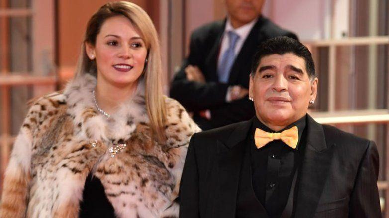 Confirman la reconciliación entre Diego Maradona y Rocío Oliva