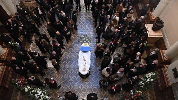 El último adiós a Fernando De La Rúa en el Congreso