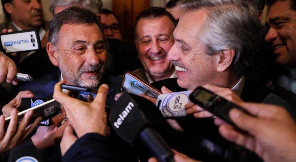 Carlos Caserio diferenció a Alberto Fernández de Cristina Kirchner