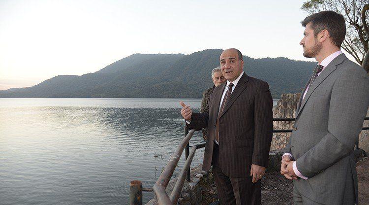 Manzur supervisó la segunda etapa de revalorización en El Cadillal