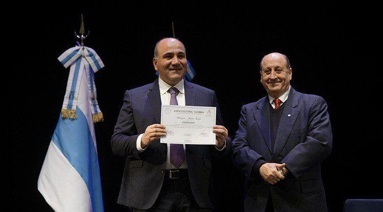 Entregaron certificados a los candidatos electos el 9 de junio