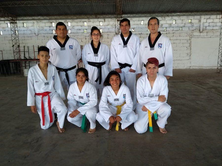 Tucumanos muestran su potencial en las competiciones de Taekwondo Wtf